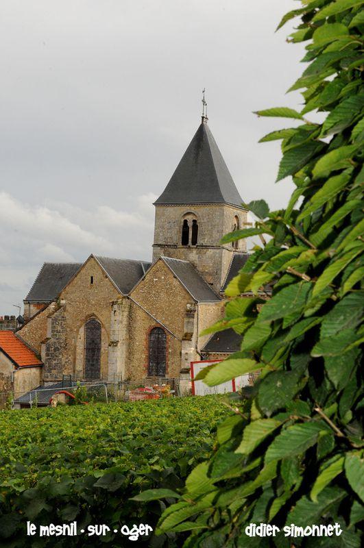 LE MESNIL-SUR-OGER ( Marne ) photo Didier Simonnet------