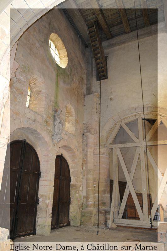 CHATILLON SUR MARNE, église Notre-Dame ( Didier Simonnet )
