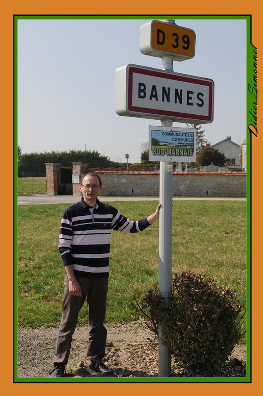 BANNES ( Marne )..