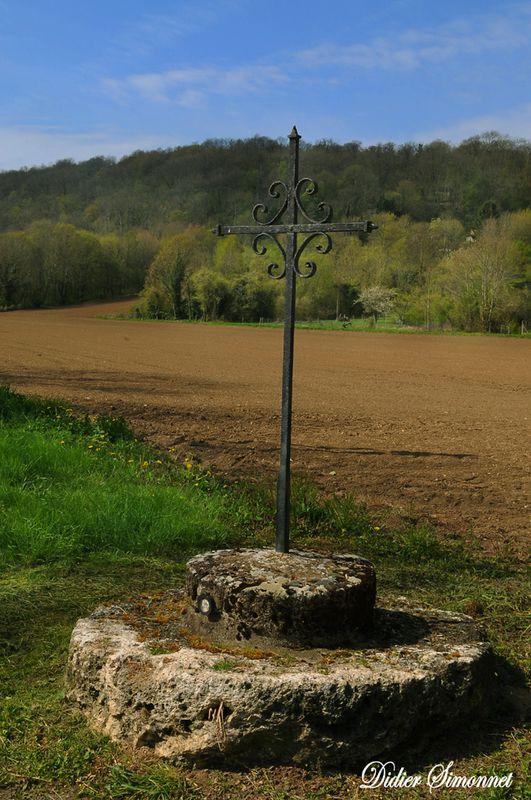 LUZANCY. La Croix du Bac ( Didier Simonnet )