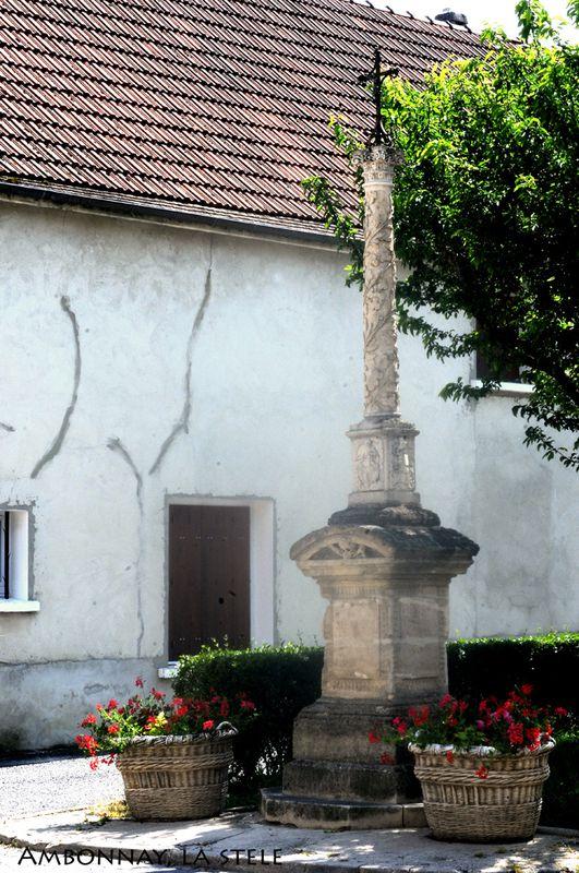 AMBONNAY,la stèle- ( Didier Simonnet )