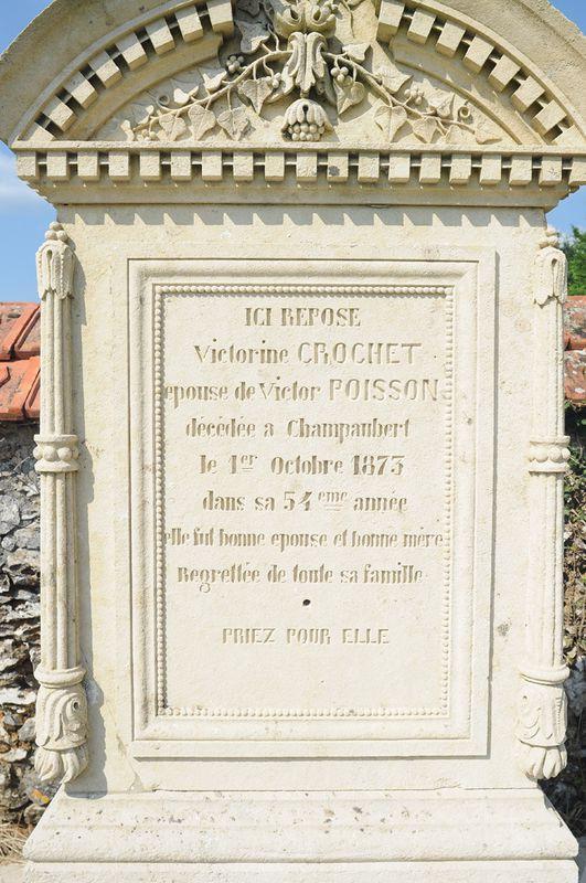 Champaubert, Victorine CROCHET
