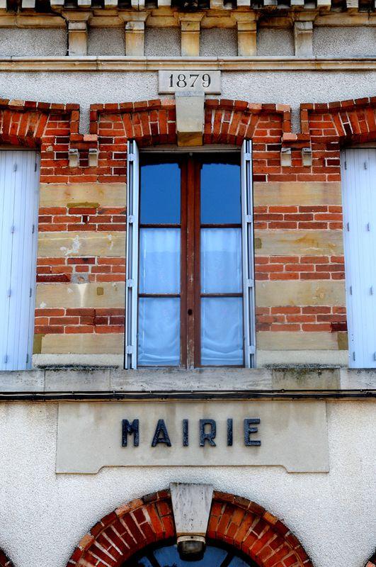 TREPAIL, façade de la mairie