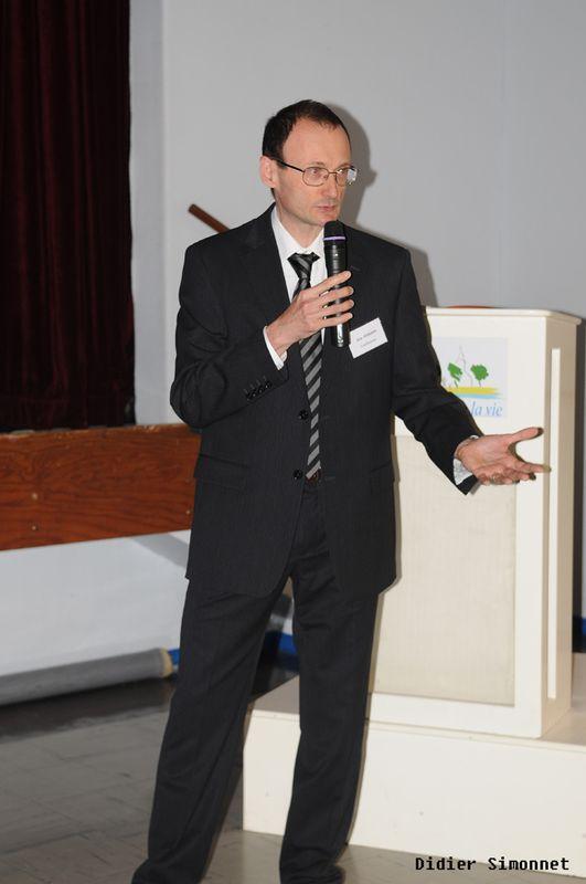 Général Farine - Conférence Eric Poisson--