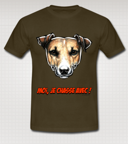 T-shirt Jack Russell