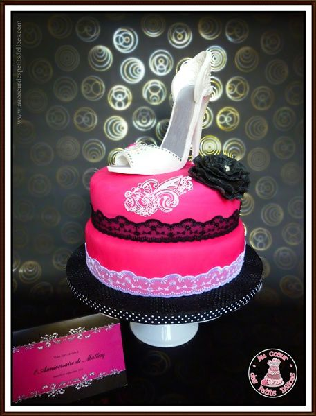 decoration gateau 18 ans