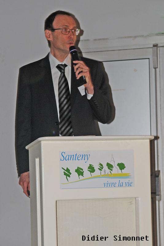 Général Farine - Conférence Eric Poisson