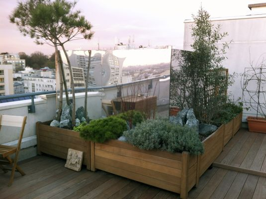 Terrasse avant intervention - S. Doumayrou