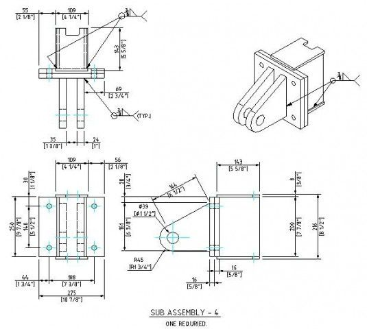 autocad design mechanical engineering