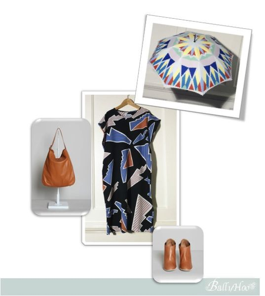 fashion ballyhoo - tenue de pluie en été lookbook