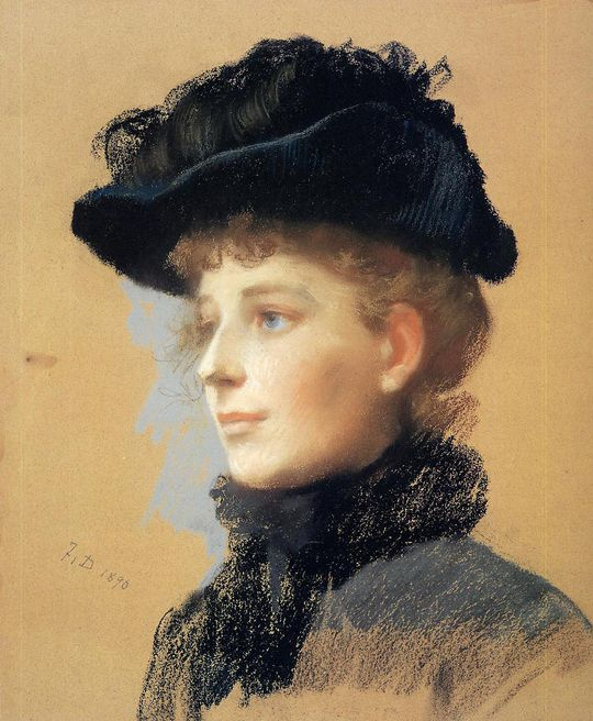 Frank-Duveneck---Portrait-of-a-woman-with-black-hat.jpg
