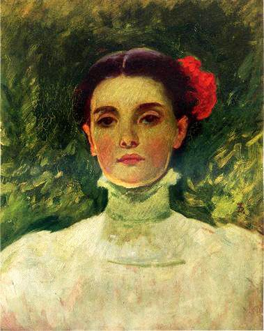 Duveneck Frank-Portrait of Maggie Wilson.normal