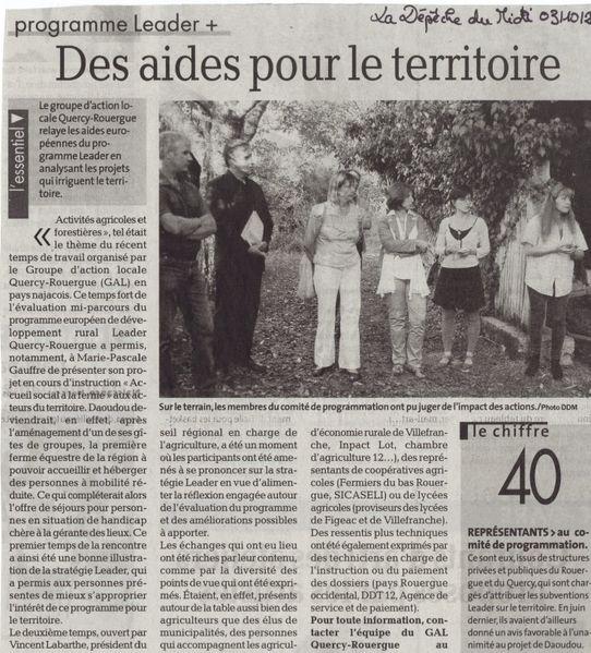 2011-1006- LaDep ComThém1 agri