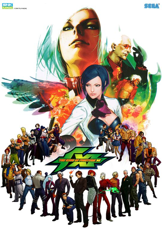 The King of Fighters XI - Illustration