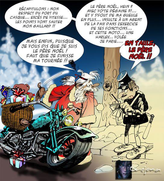 Pere noel et l 39 humour - Image humoristique pere noel ...