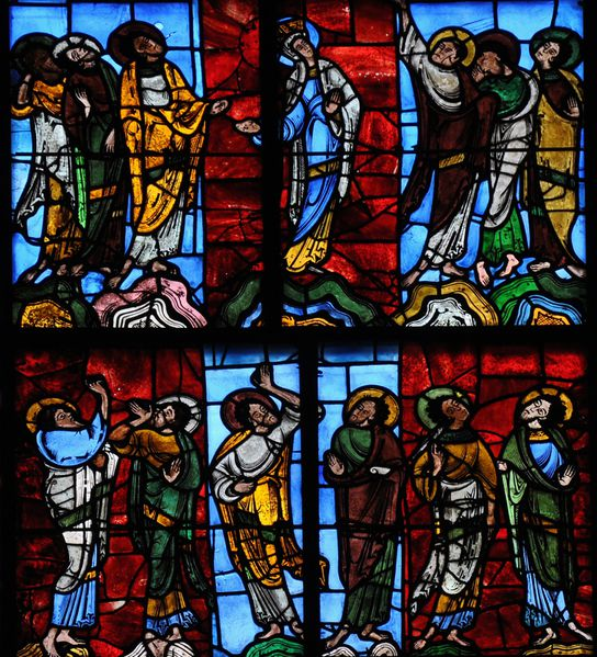 1029b Ascension Window, La cathédrale Saint-Julien du Mans