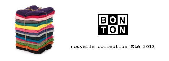 collection Bonton printemps ete 2012