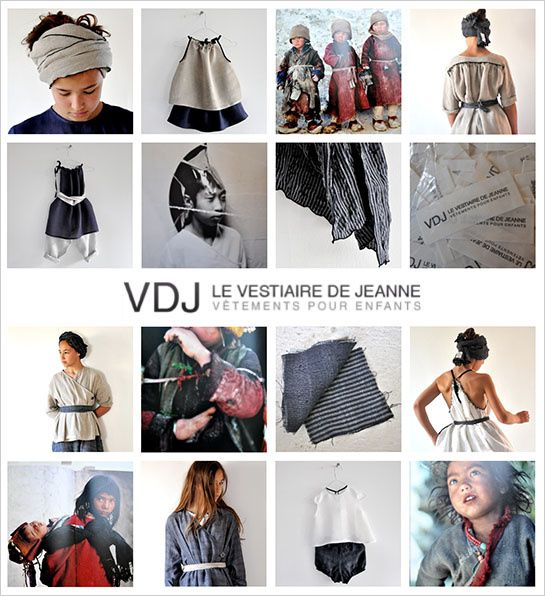 collection le vestiaire de jeanne ete 2012