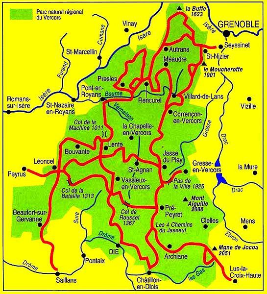 vercors carte gm1
