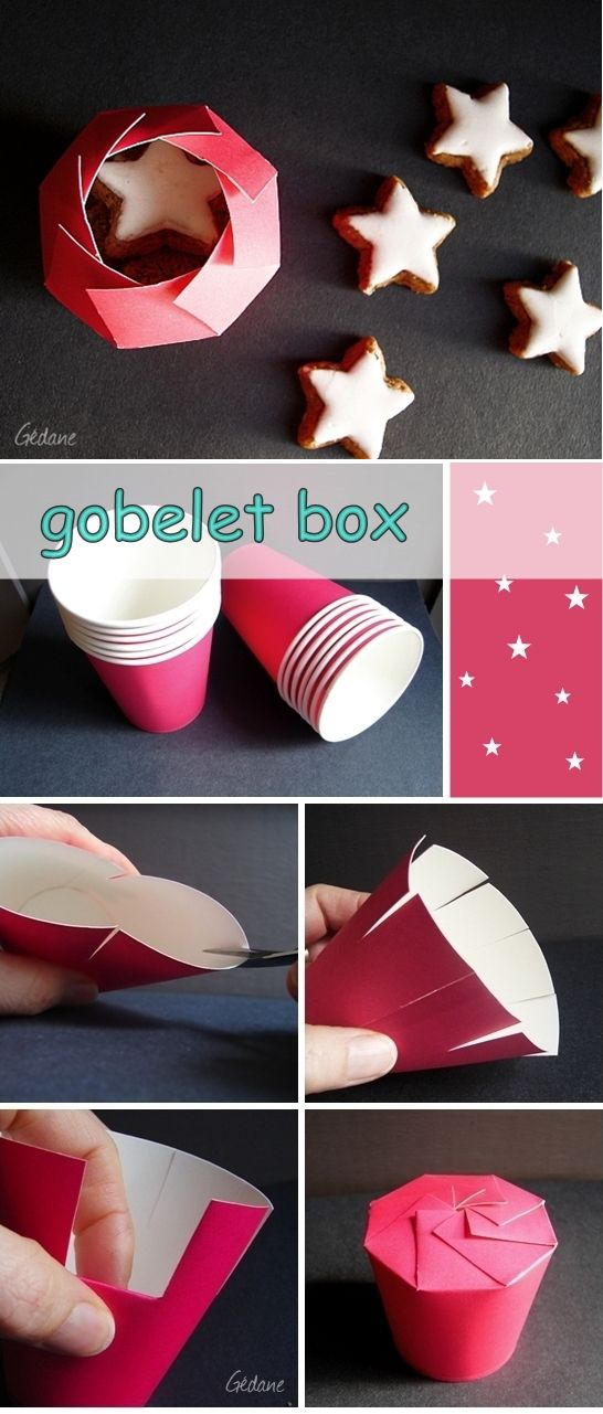 DIY Goblet Box - Happy DIY