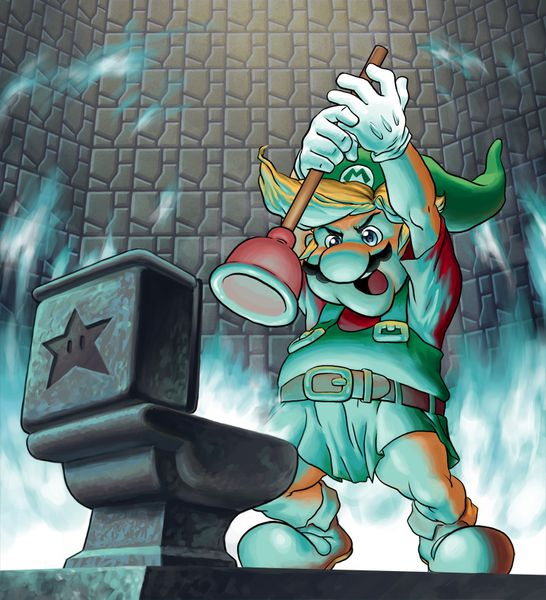 Topic libre - Page 17 The_Legend_of_Mario_by_CristianPenas