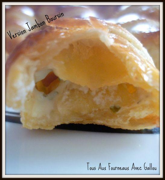 mini croissants jambon gruyère et jambon boursin (6)