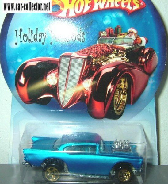 57 chevy moteur serie holiday hot rods hot wheels