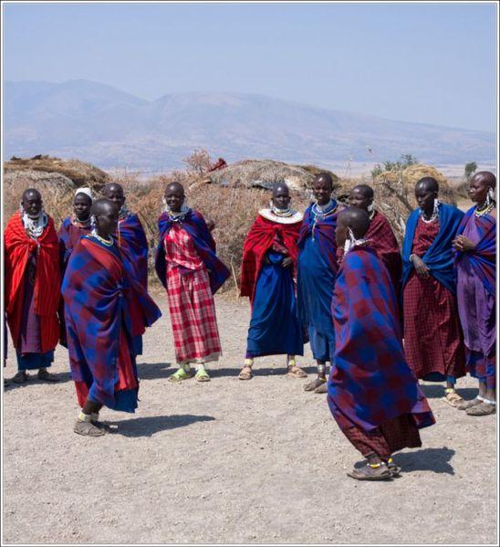 Danse des femmes masai