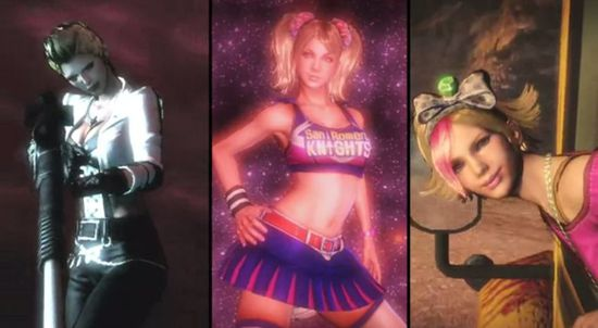 LOLLIPOP CHAINSAW sisters