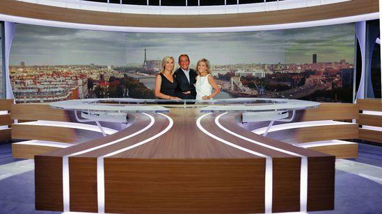 TF1 JT nouveau plateau
