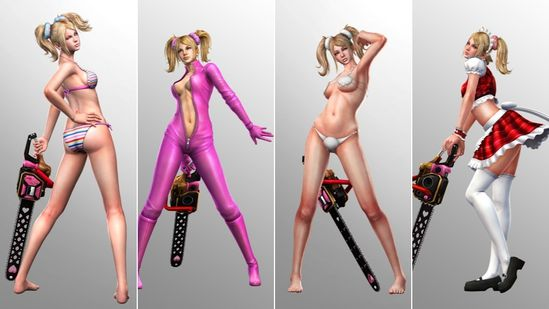 LOLLIPOP CHAINSAW SEXY