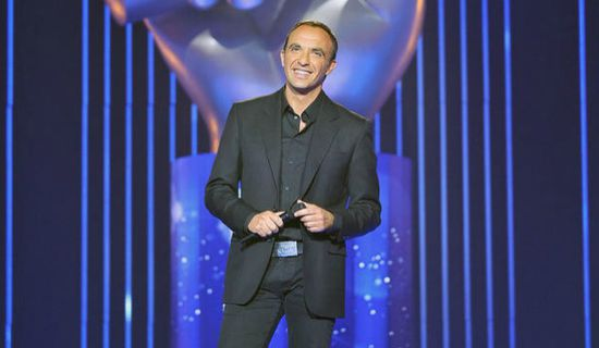 Nikos Aliagas the voice tf1