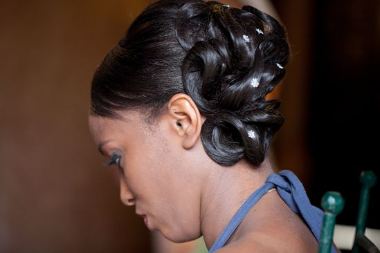 Inspiration Coiffure Mariage Cheveux Afro Co