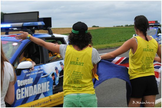 tour de france 2012-supportrices australiennes-Hardivillers