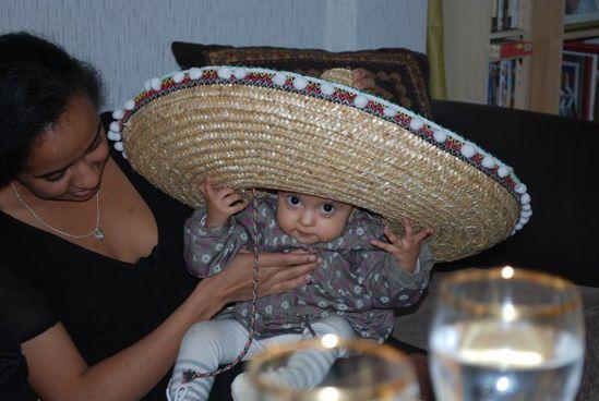 Alays ... en mode sombrero ...
