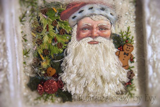 embroidery santa claus 163
