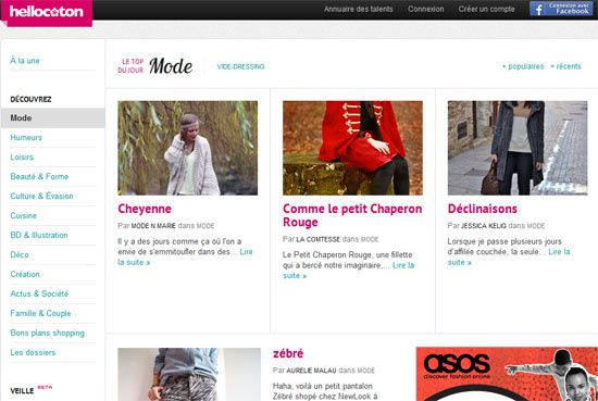 blog mode n marie Top Mode Hellocoton