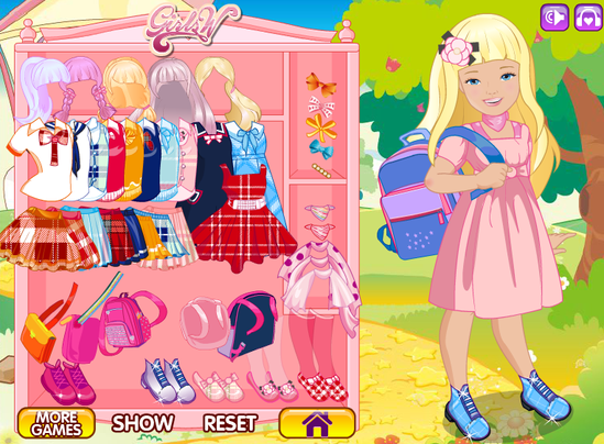 dress up games for kids and girls