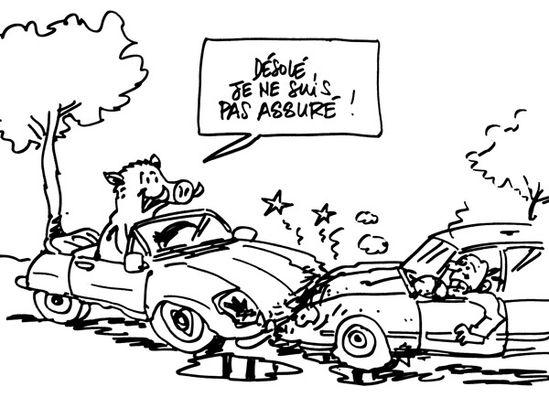 Accident de voiture dessin - Coloriage cars accident ...
