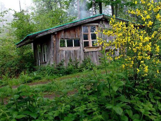 cabane de montagne a vendre
