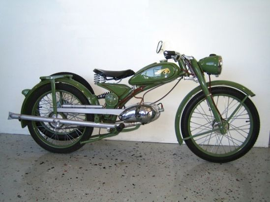 1951 Imme R100 Motorcycle For Sale Curved Profile resize
