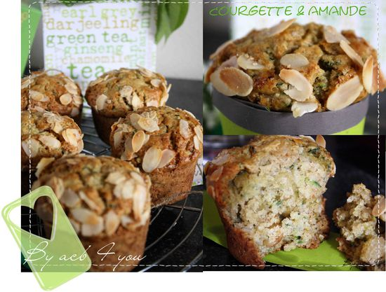 muffin courgette amande d