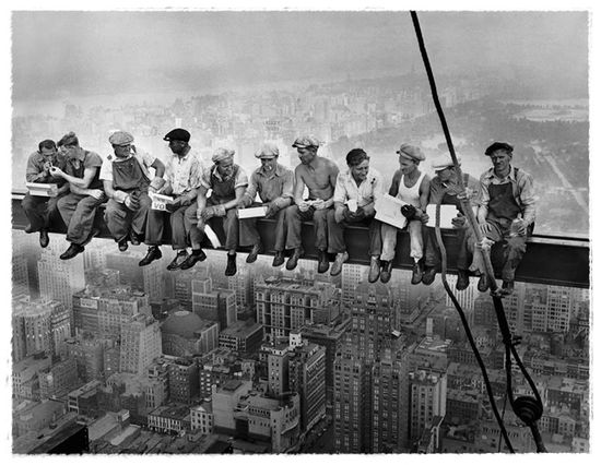 Charles Clyde EBBETS Lunchtime