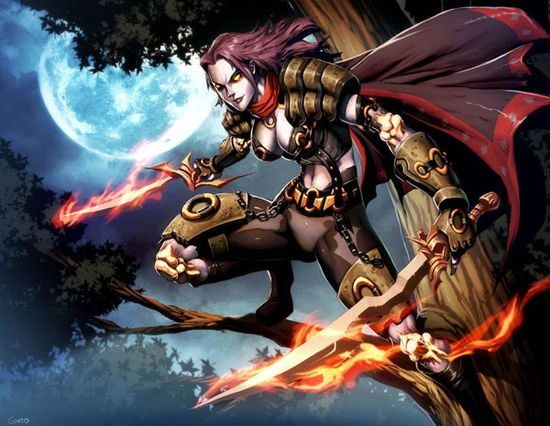 Warcraft Deathstalker Leanna by GENZOMAN 4ugeek