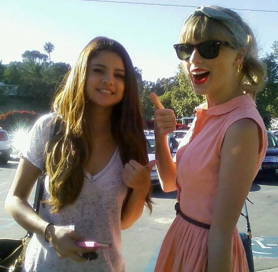 taylor swift selena gomez 2012
