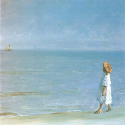 The Little Girl on Skagen Beach
