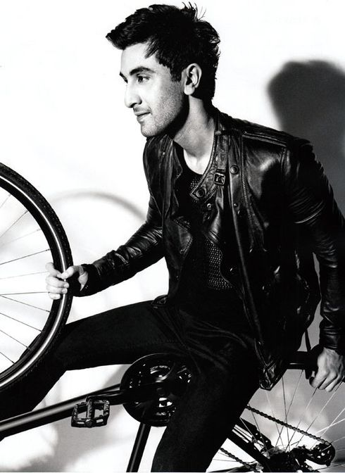 Ranbir est le cover-boy de GQ INDIA (Mai 2011) 2