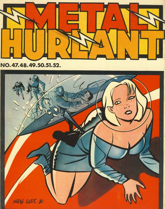 couverture metal hurlant 23