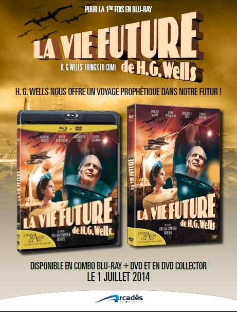 la vie future de H.G. Wells DVD