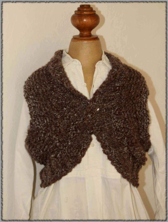 tricoter une liseuse